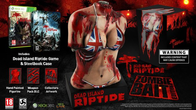 "According to Deep Silver the Zombie Bait edition of the game will feature a 31cm, hand painted resin statue described as a ""grotesque take on an iconic Roman marble torso sculpture."""
